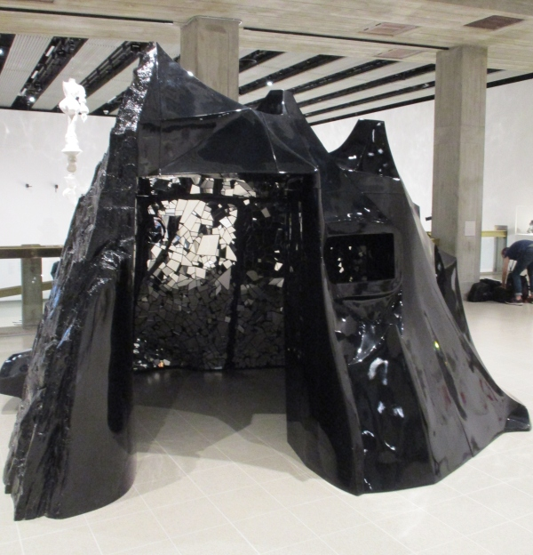 Installation view of Lee Bul at Hayward Gallery (photo by the author)