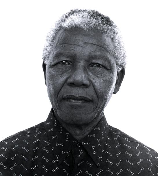 Nelson Mandela (1997) by Jillian Edelstein