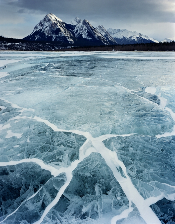 Abraham Lake, Alberta, Canada (2011) by Paul Wakefield