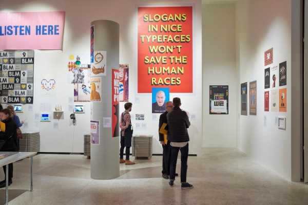 Slogans in nice typefaces won't save the human races. Photo by Benjamin Westoby