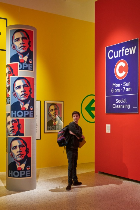 The Hope icon for Barack Obama's election campaign. Photo by Benjamin Westoby
