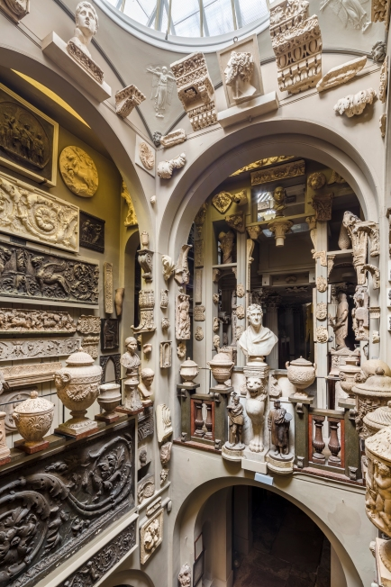 Interior of Sir John Soane's Museum
