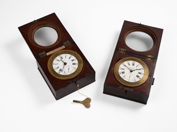 Copies of Harrison's chronometer made by John Arnold © Royal Society