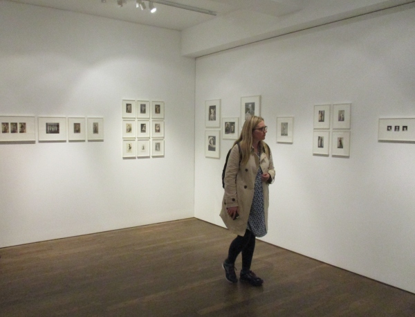 Installation view of Under Cover at the Photographers' Gallery (photo by the author)