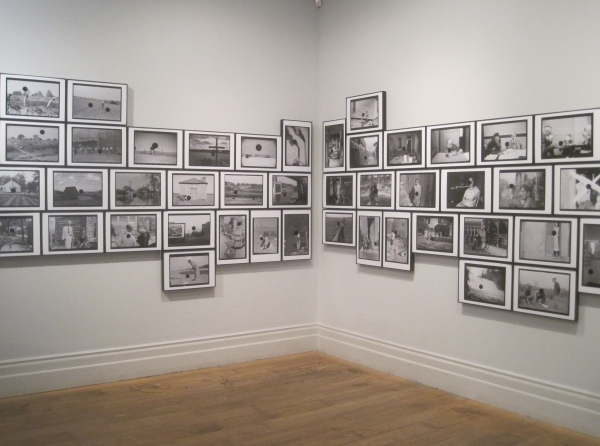 Installation view of Killed Negatives at the Whitechapel Gallery