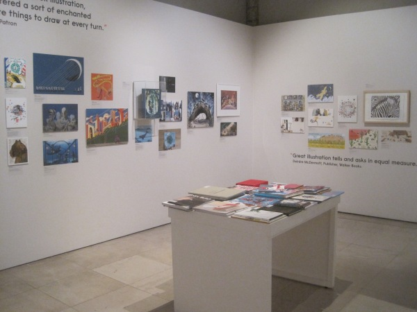 Children's book room at the World Illustration 2018 exhibition
