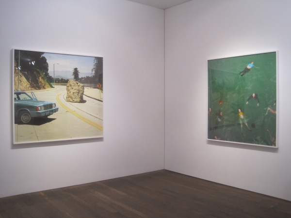 Installation view of Alex prager at the Photographers' Gallery