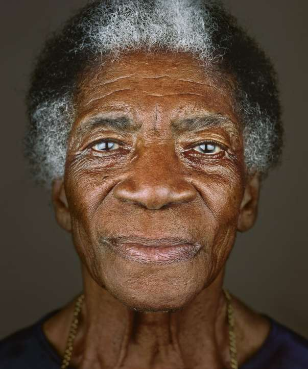 Mrs Iris Simms (2013) by Franklyn Rodgers