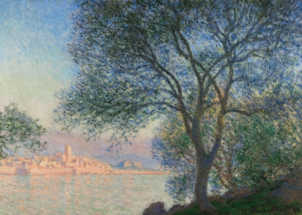 Antibes from la Salis (1888) by Claude Monet. Private collection © Photograph courtesy of Sotheby's