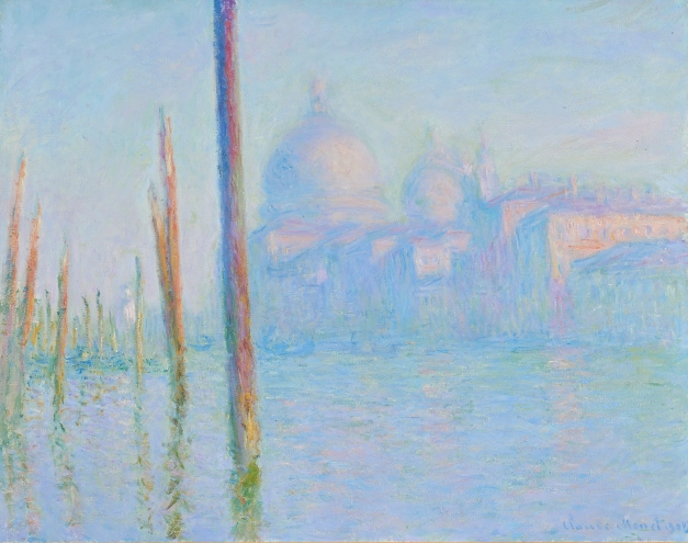 The Grand Canal (1908) by Claude Monet © Fine Arts Museums of San Francisco