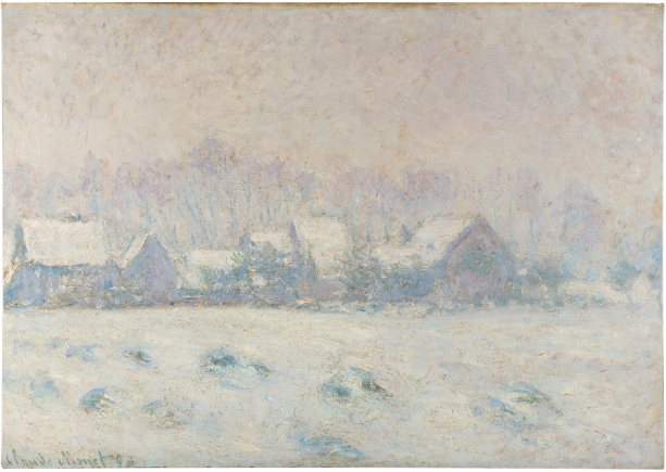 Snow Effect at Giverny (1893) by Claude Monet © New Orleans Museum of Art