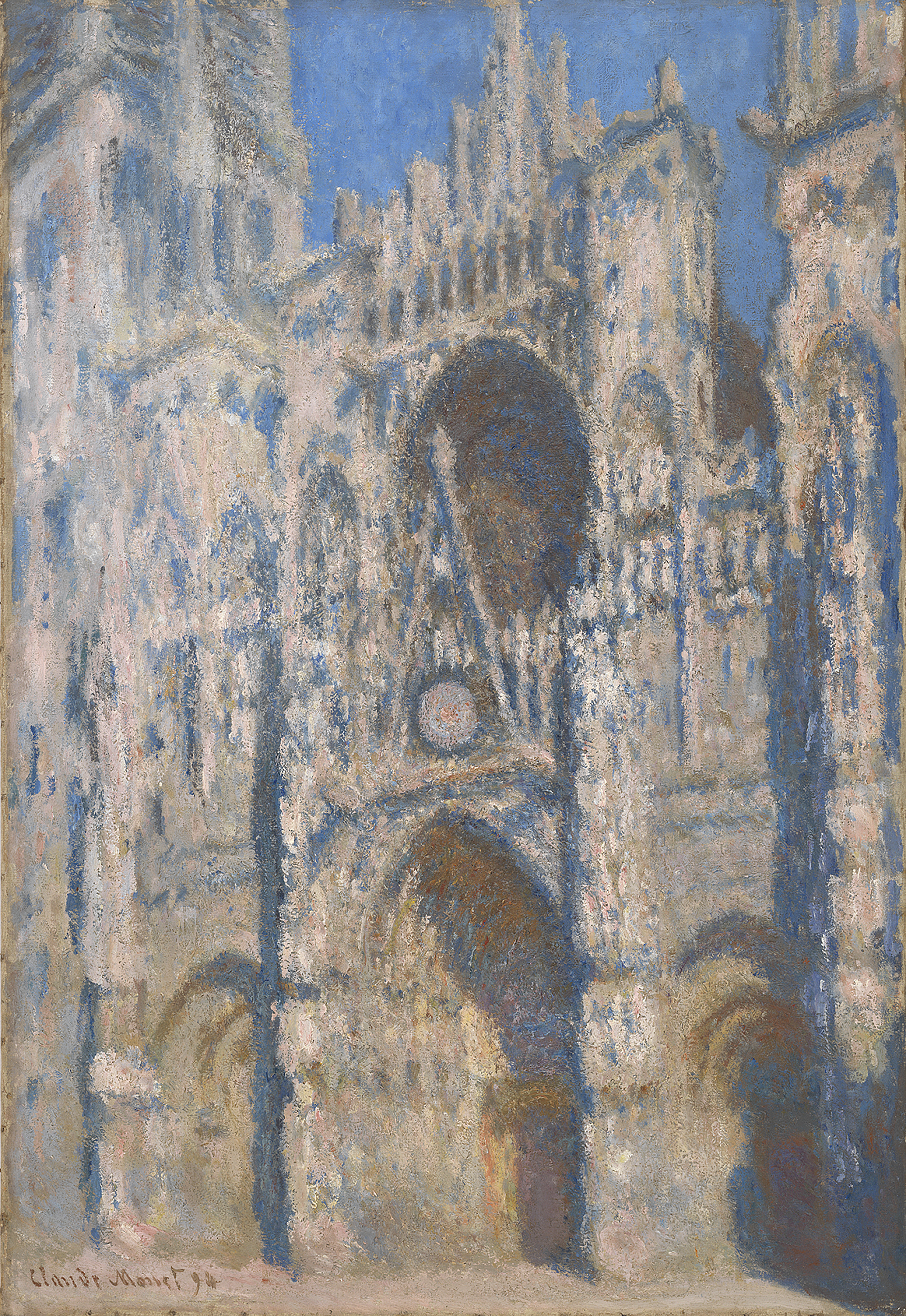 Rouen Cathedral (1894) By Claude Monet Private Collection Photo Courtesy