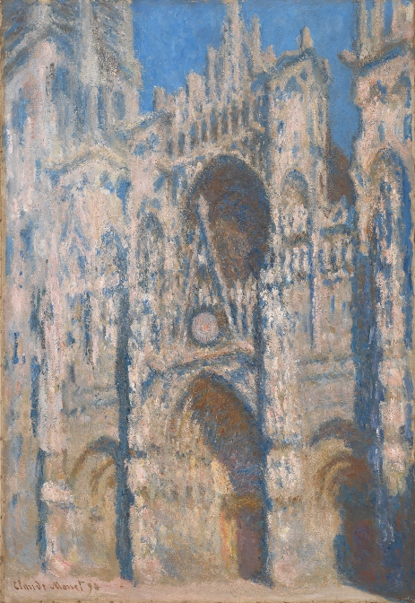 Rouen Cathedral (1894) by Claude Monet. Private collection © Photo courtesy of the owner