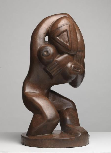 Red Stone Dancer (c. 1913) by Henri Gaudier-Brzeska © Tate