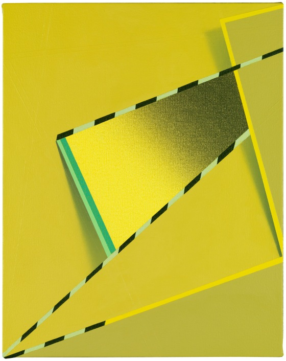 Feke (2013) by Tomma Abts. Acrylic & oil on canvas. Private Collection, New York