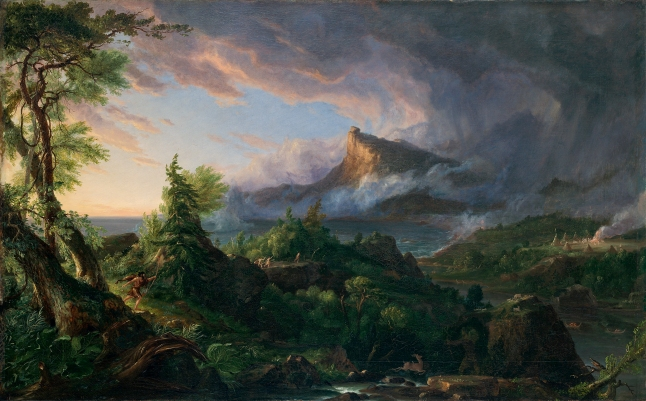 The Course of Empire: The Savage State by Thomas Cole (1834) © Collection of The New-York Historical Society, New York / Digital image by Oppenheimer Editions