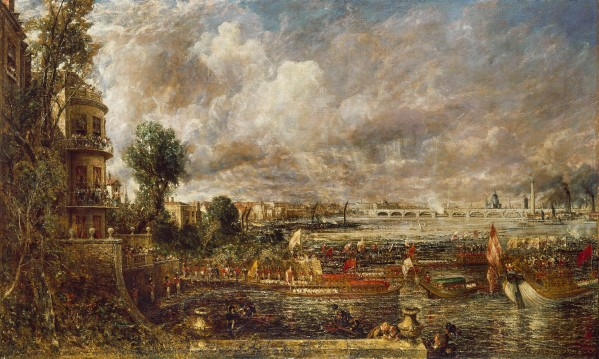 The Opening of Waterloo Bridge (1832) by John Constable © Tate 2018