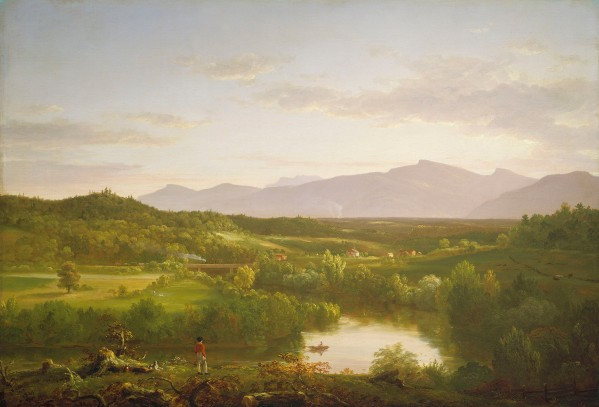 River in the Catskills (1843) by Thomas Cole © 2018 Museum of Fine Arts, Boston
