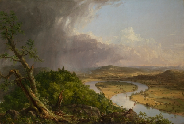 View from Mount Holyoke, Northampton, Massachusetts, after a Thunderstorm - The Oxbow (1836) by Thomas Cole © The Metropolitan Museum of Art