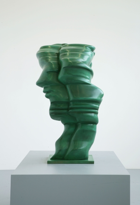 Big Head Green (2009) by Tony Cragg © DACS 2017