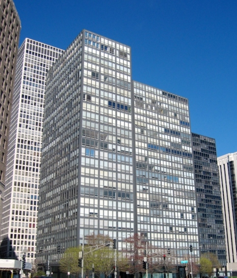 860–880 Lake Shore Drive, Chicago, Illinois by Mies van der Rohe