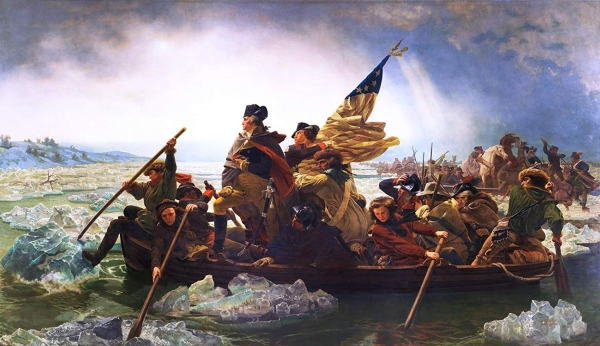 Washington Crossing the Delaware (1851) by Emanuel Gottlieb Leutze