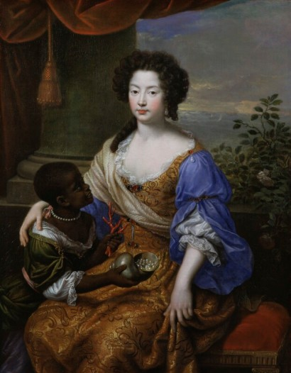 Louise de Kéroualle, Duchess of Portsmouth by Pierre Mignard (1682)