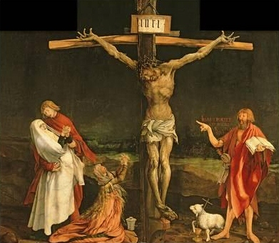 The Crucifixion, from the Isenheim Altarpiece (circa 1512-15)