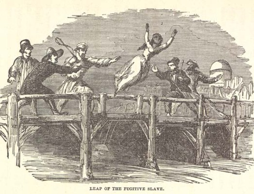 Leap of the Fugitive Slave