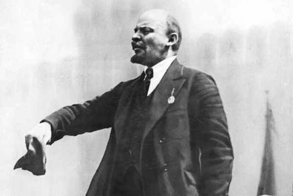 Vladimir Ilyich Ulyanov, better known by the alias Lenin