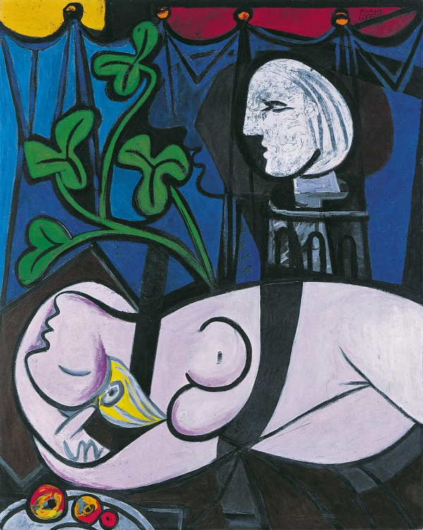 Nude, Green Leaves and Bust (1932) by Pablo Picasso. Private Collection © Succession Picasso/DACS London, 2018
