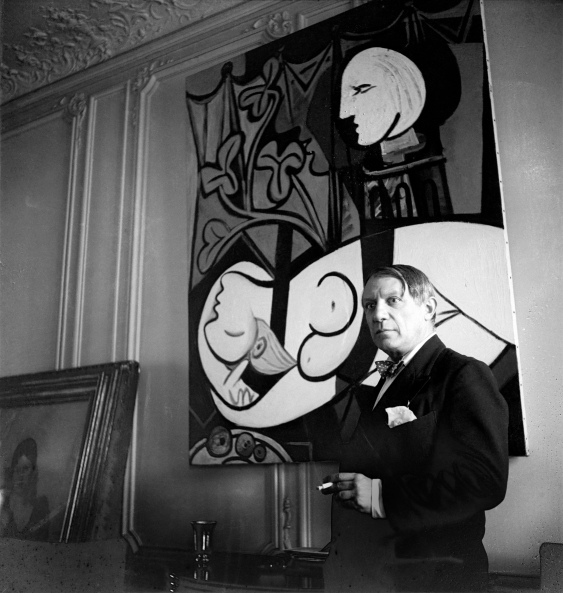 Pablo Picasso, rue La Boétie, 1933, Paris by Cecil Beaton ©The Cecil Beaton Studio Archive at Sotheby's
