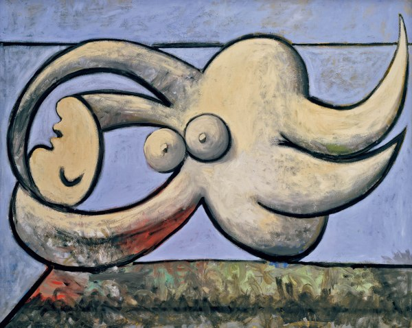 Reclining Nude (1932) by Pablo Picasso. Private Collection © Succession Picasso/DACS London, 2018
