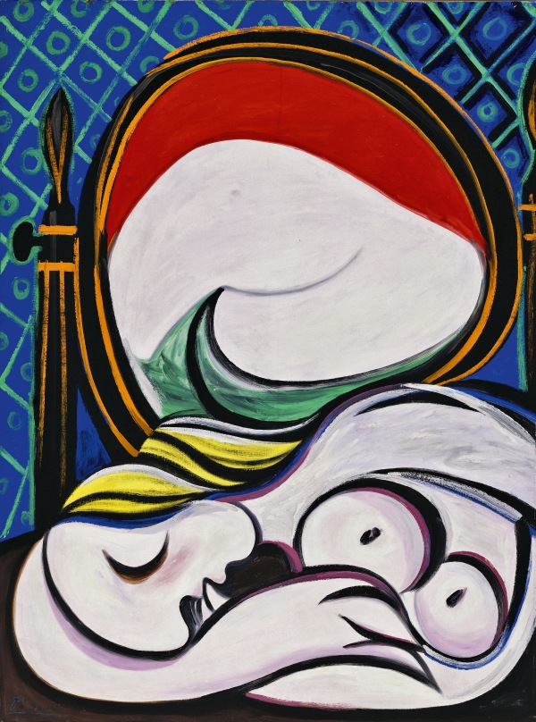 The Mirror by Pablo Picasso (12 March 1932) Private Collection © Succession Picasso/DACS London, 2018