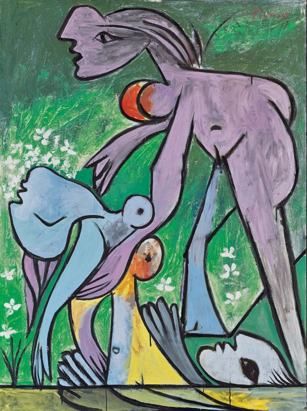 The Rescue (1932) by Pablo Picasso. Fondation Beyeler, Riehen/Basel, Sammlung Beyeler © Succession Picasso/DACS London, 2018