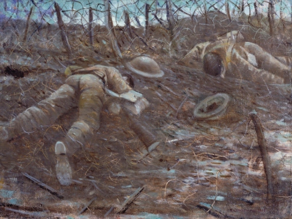 Paths of Glory (1917) by Christopher Richard Wynne Nevinson © IWM