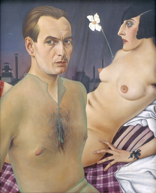 Self-Portrait (1927) by Christian Schad © Christian Schad Stiftung Aschaffenburg/VG Bild-Kunst, Bonn and DACS, London