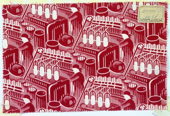 Red spinner by Andrey Golubev (1930)