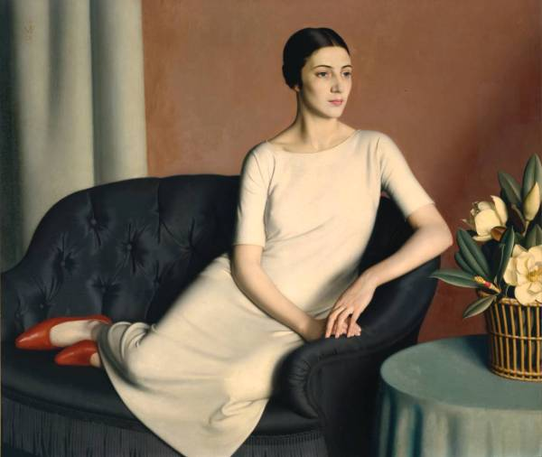 Marguerite Kelsey by Meredith Frampton (1928) © Tate