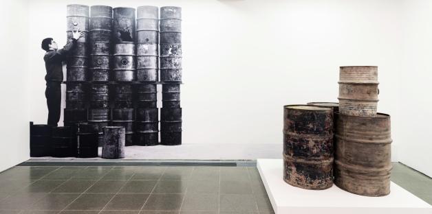 Christo and Jeanne-Claude: Barrels and The Mastaba 1958-2018, Installation view, Serpentine Gallery, London (19 June– 9 September 2018) © 2018 Hugo Glendinning