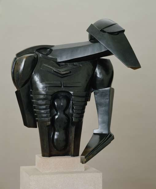 """Torso in Metal from """"The Rock Drill"""" (1913-14) by Jacob Epstein. Tate © The Estate of Jacob Epstein"""