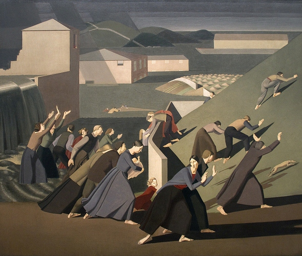 The Deluge (1920) by Winifred Knights