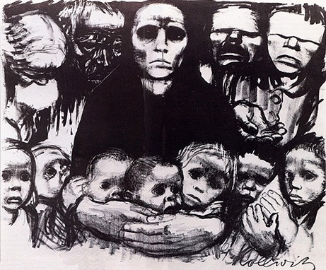 The Survivors (1923) by Käthe Kollwitz