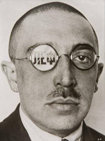Osip Bril by Alexander Rodchenko (1924)