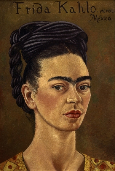 Self-portrait by Frida Kahlo (1941) © The Jacques and Natasha Gelman Collection of 20th Century Mexican Art and The Vergel Collection