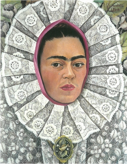 Self-Portrait by Frida Kahlo (1948) © Private Collection