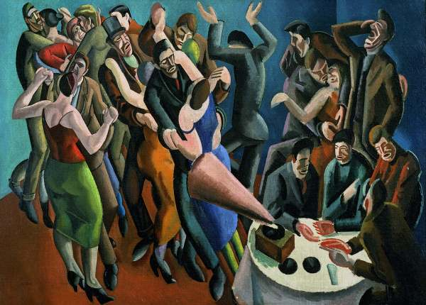 The Dance Club (1923) by William Roberts. Leeds Museums and Galleries © Estate of John David Roberts