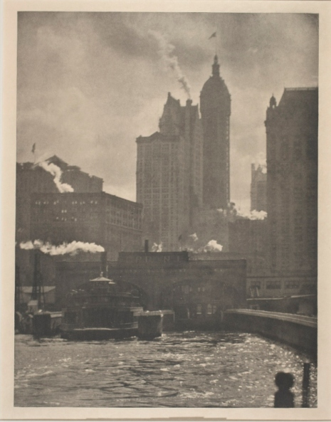 The City of Ambitions (1910) by Alfred Stieglitz. Courtesy of the George Eastman Museum