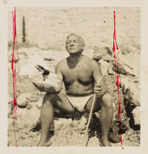 Picasso en Minotaure, Mougins, 1937 by Dora Maar © ADAGP, Paris. Photo © Centre Pompidou