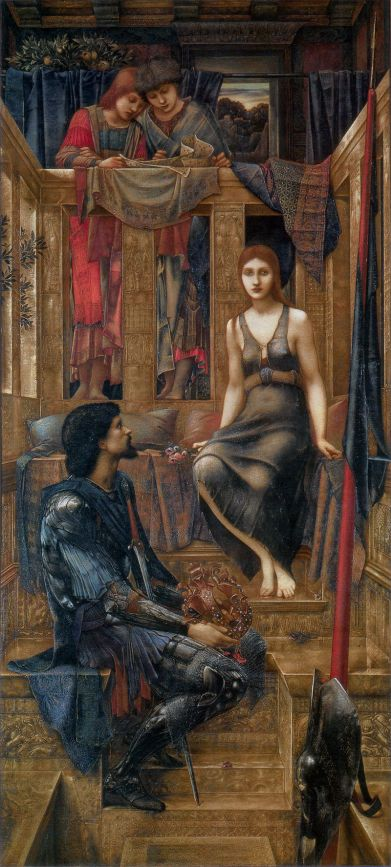 King Cophetua and the Beggar Maid by Edward Burne-Jones (1884)